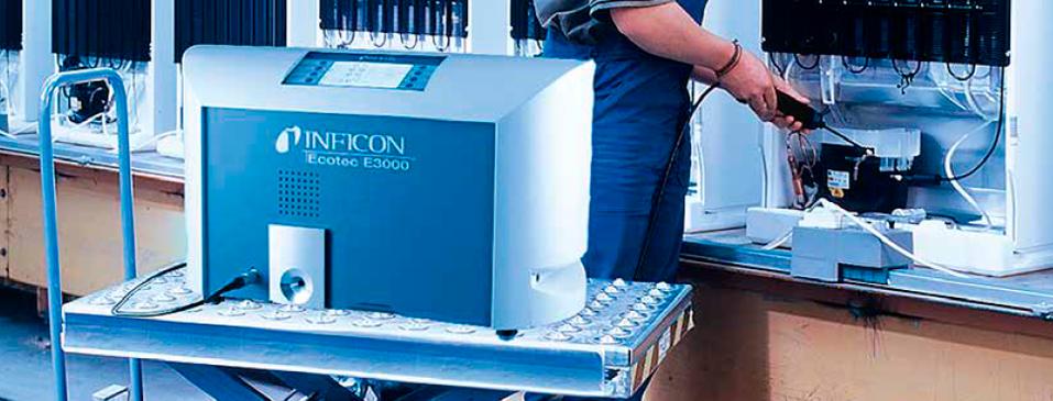Detector para múltiples gases Inficon E3000